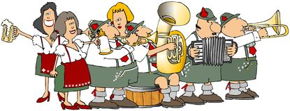 Oktoberfest Group Stock Images