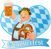 Oktoberfest Guy Royalty Free Stock Image