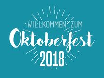 Oktoberfest typography vector design for greeting cards and poster. Beer Festival vector banner. vector illustration