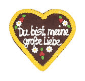 Oktoberfest heart Stock Photo