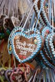 Oktoberfest hearts stock photos