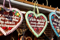 Oktoberfest Hearts love Stock Images