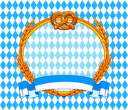 Oktoberfest Hintergrund Lizenzfreies Stockbild