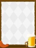 Oktoberfest Hintergrund Lizenzfreies Stockfoto