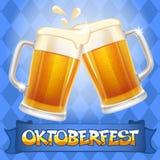 Oktoberfest-Hintergrund Lizenzfreie Stockbilder