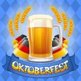 Oktoberfest-Hintergrund Lizenzfreies Stockbild