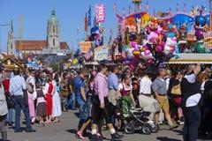 Oktoberfest i munich royaltyfri fotografi