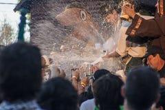 Oktoberfest i villageneral Belgrano Arkivfoto