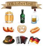 Oktoberfest icons Stock Photography