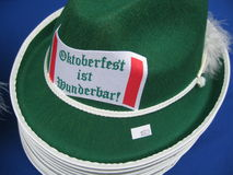 Oktoberfest ist wunderbar hats!! Stock Photo