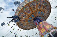 Oktoberfest Karussell 2010 Stockfoto
