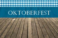 Oktoberfest kommt bald Hintergrund für das berühmte, traditionelle bayerische Oktoberfest lizenzfreies stockbild