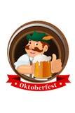 Oktoberfest-Konzept Lizenzfreies Stockfoto