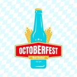 Oktoberfest label Royalty Free Stock Image