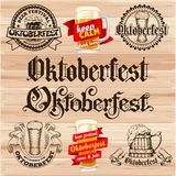Oktoberfest Labels Stock Photography