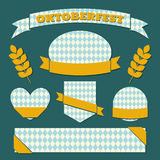 Oktoberfest Labels Collection Stock Images