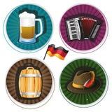 Oktoberfest Labels Royalty Free Stock Photos
