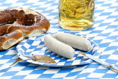Oktoberfest lunch Stock Photo