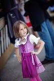 Oktoberfest-Mädchen Lizenzfreies Stockbild
