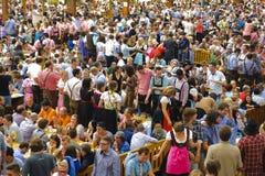 Oktoberfest in München Royalty-vrije Stock Foto