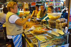Oktoberfest in München Stock Fotografie