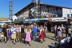 Oktoberfest in München Stock Foto
