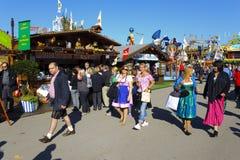 Oktoberfest in München Royalty-vrije Stock Afbeeldingen
