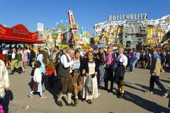 Oktoberfest in München Royalty-vrije Stock Foto's