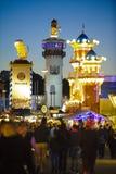 Oktoberfest in München Stock Afbeelding