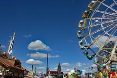 Oktoberfest München Beieren - Achtergrondmening stock foto's