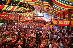 Oktoberfest, München, Deutschland lizenzfreies stockbild