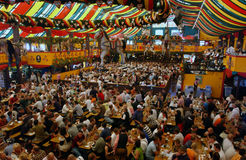 Oktoberfest,münchen,germany. Oktoberfest in muenchen germany inside a pavilion royalty free stock photography