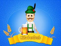 Oktoberfest mam Royalty Free Stock Images