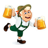 Oktoberfest Man Royalty Free Stock Photos