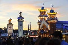 Oktoberfest a Monaco di Baviera Fotografie Stock Libere da Diritti