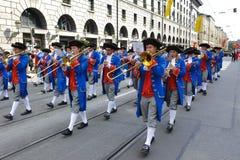 Oktoberfest a Monaco di Baviera fotografia stock