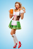 Oktoberfest mood. Stock Photo
