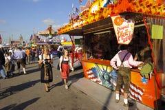 Oktoberfest in Munich stock photos
