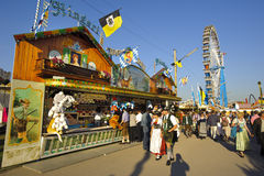 Oktoberfest in Munich Royalty Free Stock Photos