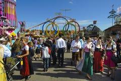 Oktoberfest in munich Stock Image