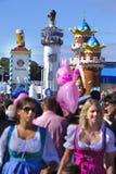 Oktoberfest in munich Royalty Free Stock Photo