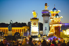 Oktoberfest in Munich Royalty Free Stock Photo