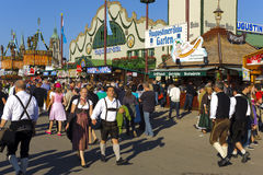 Oktoberfest in Munich Royalty Free Stock Photography