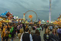 Oktoberfest in Munich, Bavaria, Germany Royalty Free Stock Photography