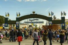 Oktoberfest in Munich, Bavaria, Germany Royalty Free Stock Photography