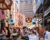 Oktoberfest NYC 2016 Foto de archivo libre de regalías