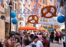 Oktoberfest NYC 2016 Imagen de archivo libre de regalías