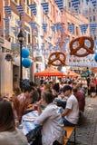 Oktoberfest NYC 2016 Imagenes de archivo