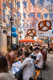 Oktoberfest NYC 2016 Stock Images