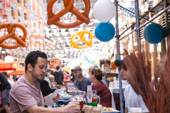 Oktoberfest NYC 2016 Stock Photos